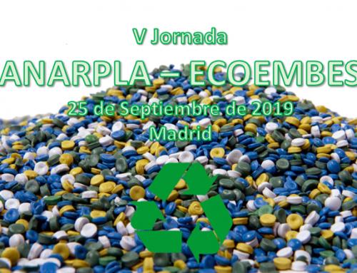 V Jornada ANARPLA-ECOEMBES, 25 de Septiembre en Madrid