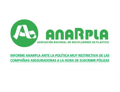 El estudio realizado por ANARPLA en las plantas de Reciclado Mecánico de Plásticos demuestra que NO EXISTE una problemática real de incendios en nuestro sector